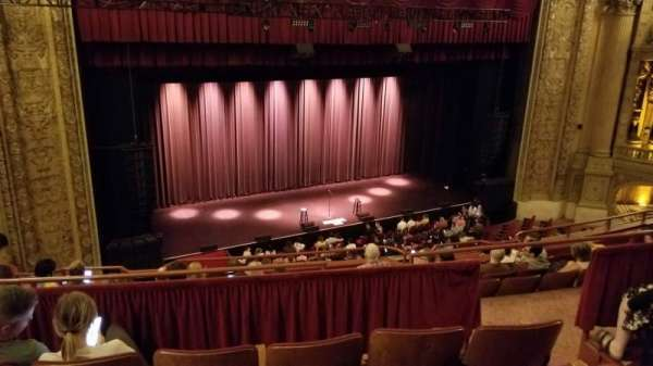 Chicago Theatre, Abschnitt: Balcony2L, Reihe: D, Platz: 209