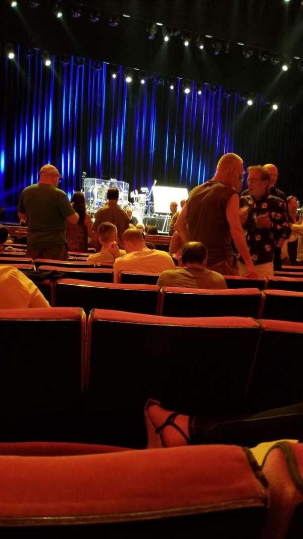 Radio City Music Hall, Abschnitt: Orchestra 5, Reihe: JJ, Platz: 507
