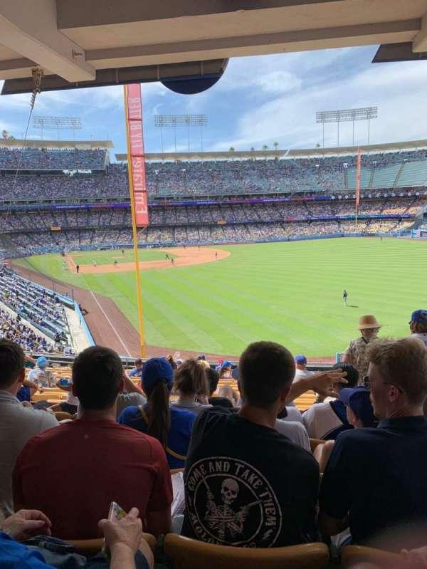 Dodger Stadium, Abschnitt: 166LG, Reihe: S, Platz: 19