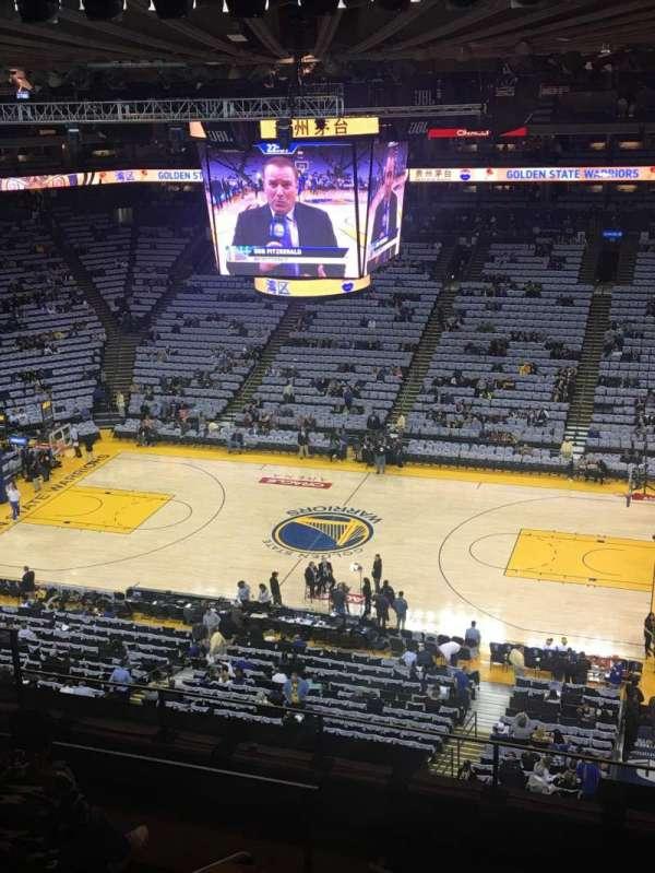 Oakland Arena, Abschnitt: 231, Reihe: 7, Platz: 8