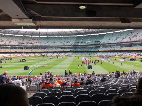 Melbourne Cricket Ground, Bereich: M9, Reihe: HH, Platz: 15