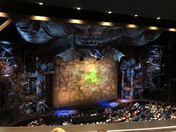Gershwin Theatre, Abschnitt: Front Mezzanine L, Reihe: C, Platz: 9