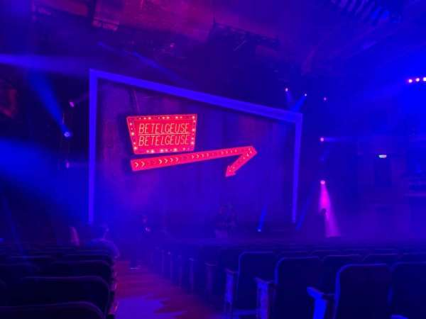 Winter Garden Theatre, Abschnitt: Orchestra L, Reihe: O, Platz: 1