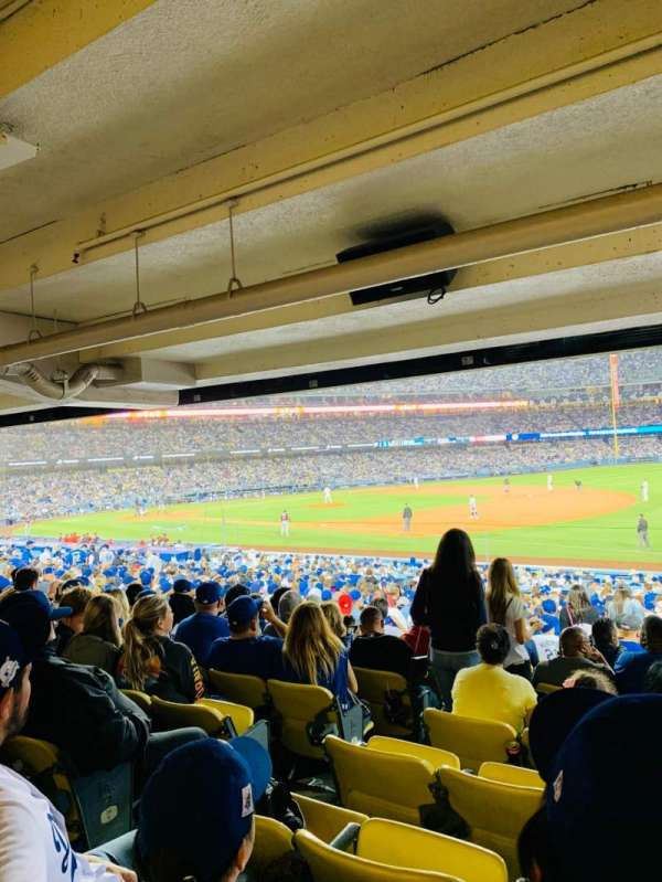 Dodger Stadium, Abschnitt: 36FD, Reihe: X, Platz: 6