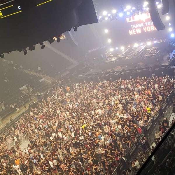 Madison Square Garden, Abschnitt: 310, Reihe: 2, Platz: 1