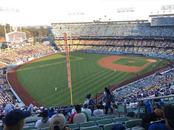 Dodger Stadium, Bereich: 53RS, Reihe: HH, Platz: 4