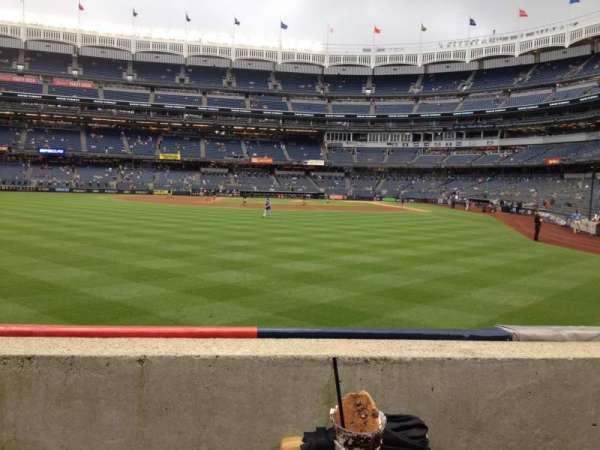 Yankee Stadium, Abschnitt: 135, Reihe: 1