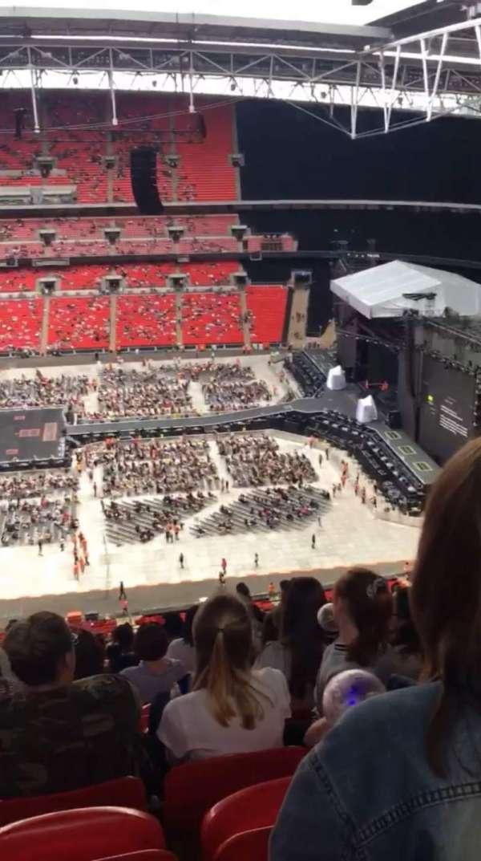 Wembley Stadium, Abschnitt: 551, Reihe: 33, Platz: 355