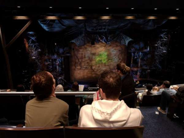 Gershwin Theatre, Abschnitt: Rear Mezzanine L, Reihe: G, Platz: 3