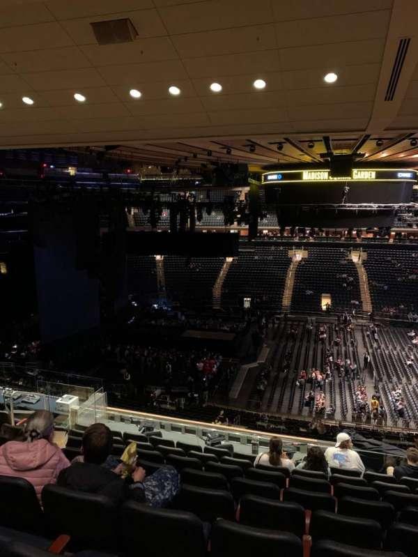 Madison Square Garden, Abschnitt: 224, Reihe: 11, Platz: 7