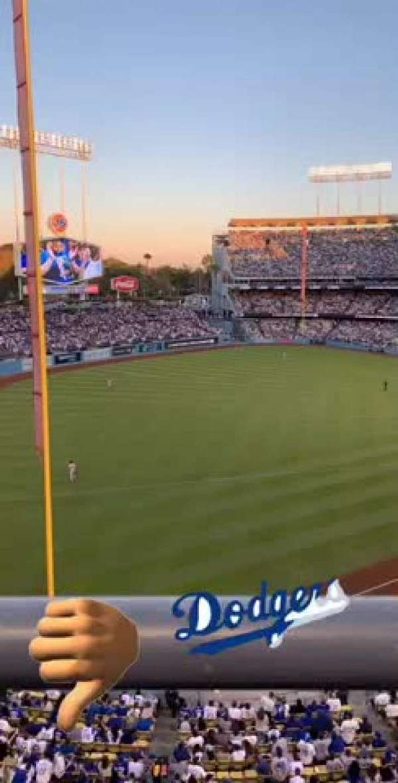 Dodger Stadium, Bereich: 47RS, Reihe: A, Platz: 6
