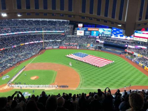 Yankee Stadium, Abschnitt: 415, Reihe: 14, Platz: 16