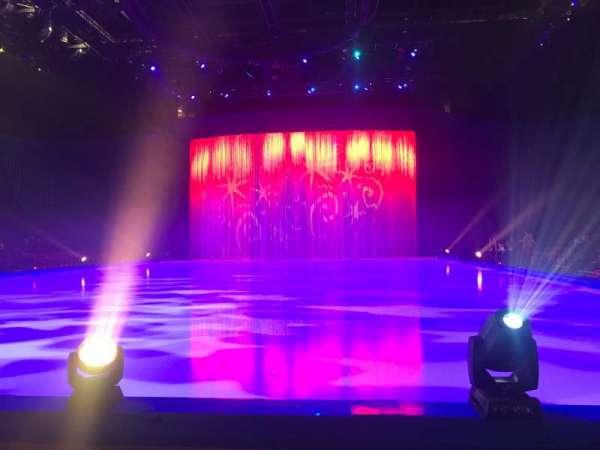 Manchester Arena, Abschnitt: E, Reihe: B, Platz: 8