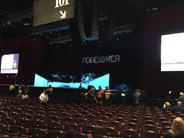 Hard Rock Live at Etess Arena, Abschnitt: 101, Reihe: 17
