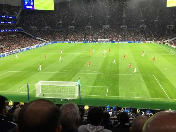Tottenham Hotspur Stadium, Abschnitt: 419, Reihe: 7, Platz: 345