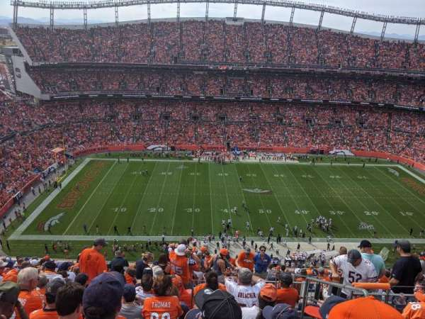 Empower Field at Mile High Stadium, Abschnitt: 536, Reihe: 18, Platz: 4