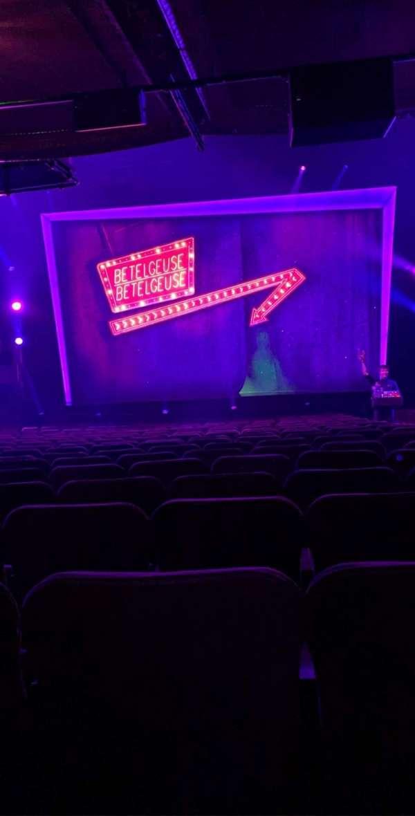Winter Garden Theatre, Abschnitt: Orchestra C, Reihe: U, Platz: 104