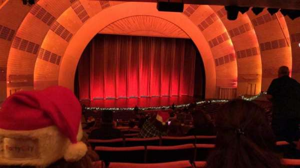 Radio City Music Hall, Abschnitt: 1ST Mezzanine 6, Reihe: H, Platz: 605