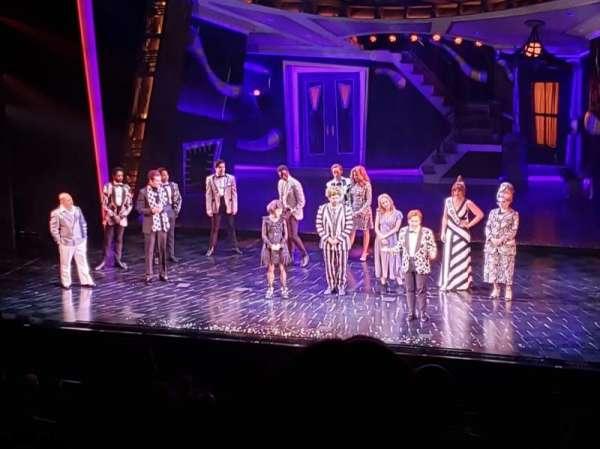Winter Garden Theatre, Abschnitt: Mezzanine RC, Reihe: F, Platz: 142