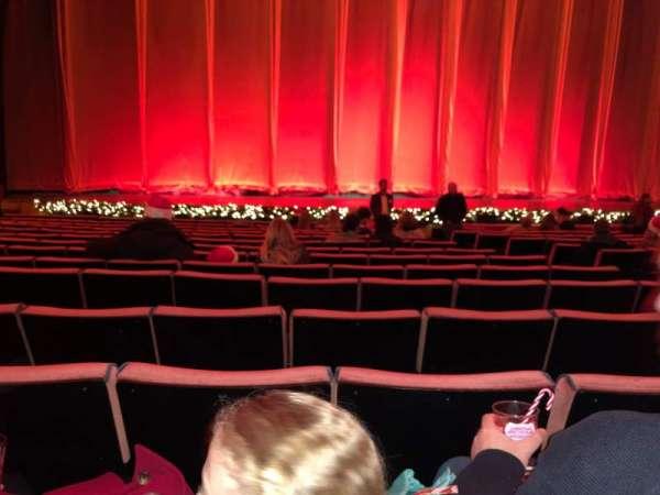 Radio City Music Hall, Abschnitt: Orchestra 5, Reihe: OO