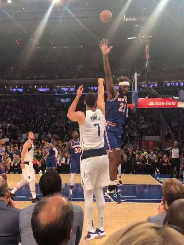 Madison Square Garden, Abschnitt: 6, Reihe: 1, Platz: 16