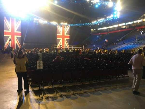 Manchester Arena, Abschnitt: 106, Reihe: A, Platz: 5