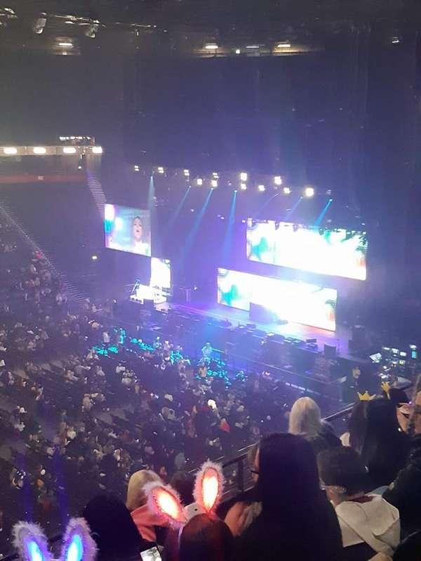 Manchester Arena, Abschnitt: 213, Reihe: E, Platz: 7