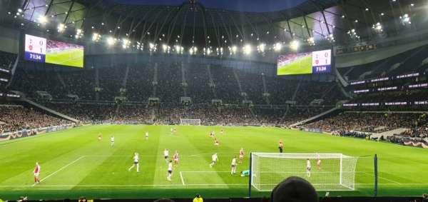 Tottenham Hotspur Stadium, Abschnitt: 113, Reihe: 23, Platz: 390