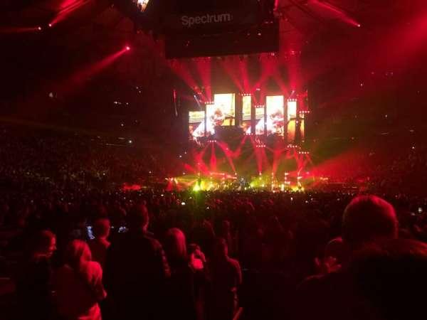 Madison Square Garden, Abschnitt: 3, Reihe: 7, Platz: 1