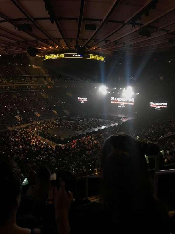 Madison Square Garden, Abschnitt: 207, Reihe: 5, Platz: 19