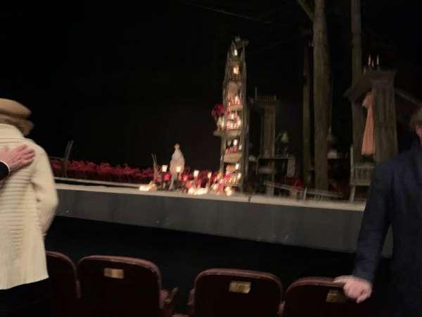 American Airlines Theatre, Bereich: Orchestra center, Reihe: B, Platz: 102