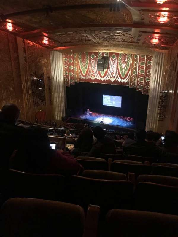 Paramount Theater (Oakland), Abschnitt: BALC REAR, Reihe: W, Platz: 30