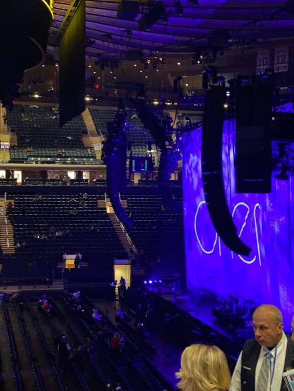 Madison Square Garden, Abschnitt: 107, Reihe: 22, Platz: 20