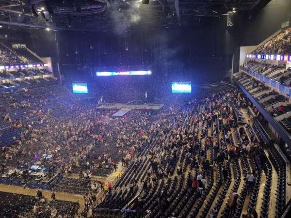 The O2 Arena, Abschnitt: 415, Reihe: A