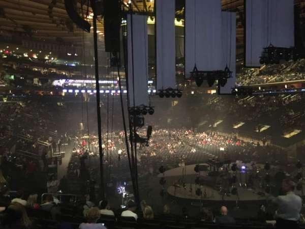Madison Square Garden, Abschnitt: 111, Reihe: 17, Platz: 15