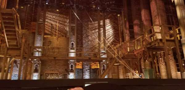 Orpheum Theatre (San Francisco), Abschnitt: Orchestra LC, Reihe: D, Platz: 101