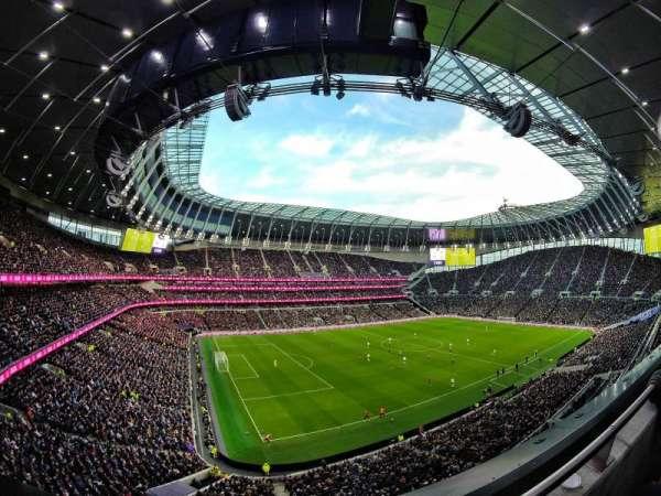 Tottenham Hotspur Stadium, Abschnitt: 509, Reihe: 1, Platz: 297
