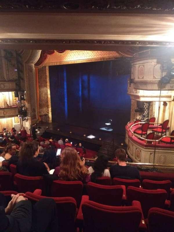Cort Theatre, Abschnitt: Mezzanine R, Reihe: E, Platz: 22