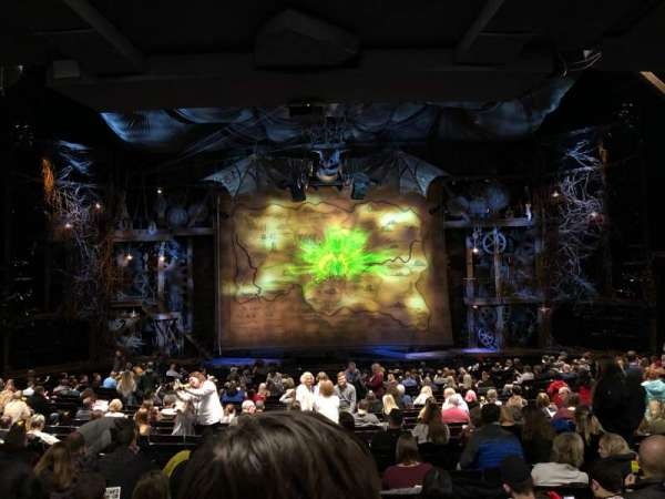 Gershwin Theatre, Abschnitt: Orchestra C, Reihe: V, Platz: 110
