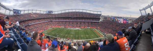 Empower Field at Mile High Stadium, Abschnitt: 507, Reihe: 15, Platz: 7
