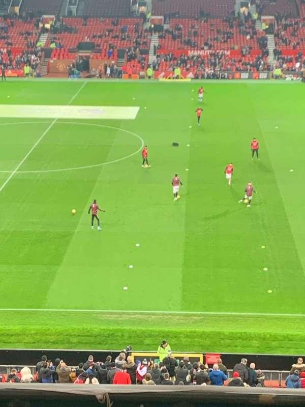 Old Trafford, Abschnitt: N5415, Reihe: 6, Platz: 30