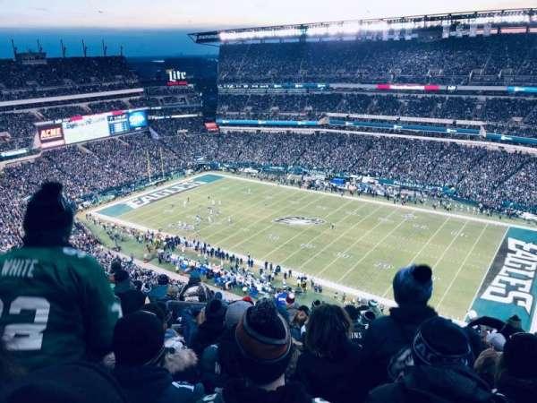 Lincoln Financial Field, Abschnitt: 229, Reihe: 23, Platz: 25-26