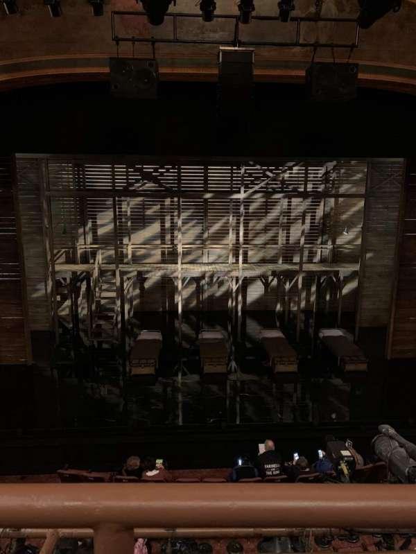 American Airlines Theatre, Bereich: Front mezzanine, Reihe: A, Platz: 123