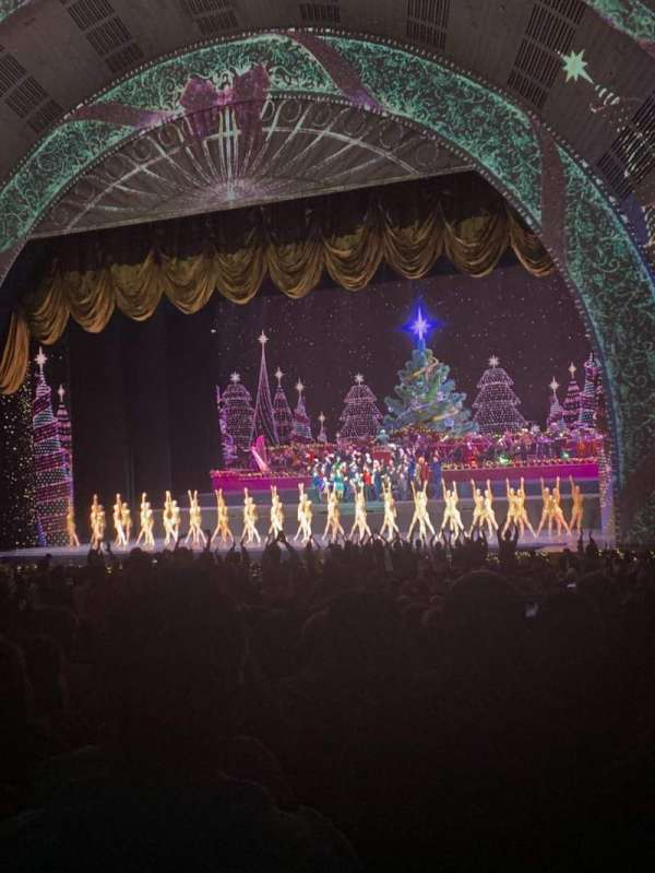 Radio City Music Hall, Abschnitt: ORCHESTRA 2, Reihe: P, Platz: 201
