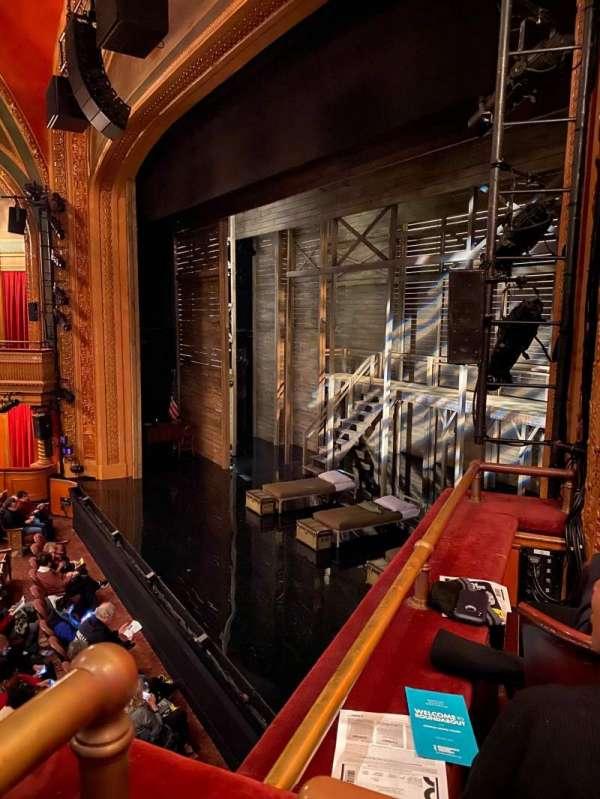 American Airlines Theatre, Bereich: Mezz Box, Reihe: RB, Platz: 6