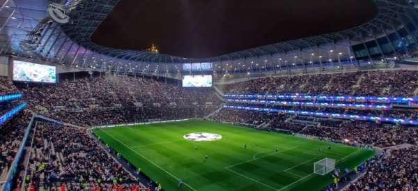 Tottenham Hotspur Stadium, Abschnitt: 520, Reihe: 2, Platz: 648