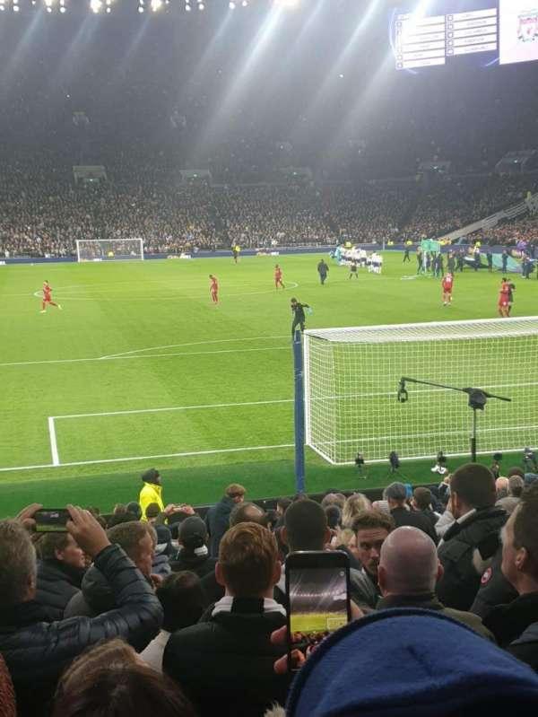 Tottenham Hotspur Stadium, Abschnitt: 113, Reihe: 18, Platz: 389