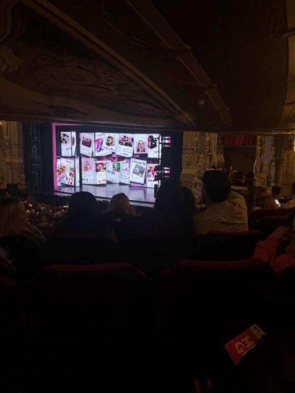 James M. Nederlander Theatre, Abschnitt: Dress Circle R, Reihe: LL, Platz: 10