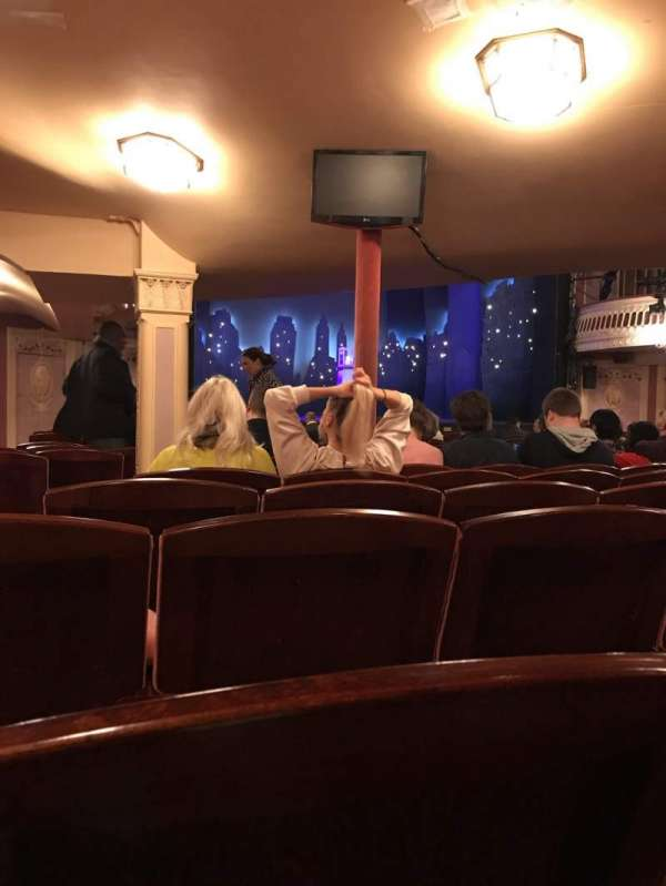 Criterion Theatre, Abschnitt: Stalls, Reihe: R, Platz: 23