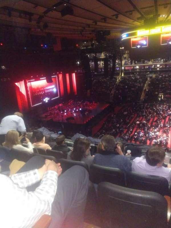 Madison Square Garden, Abschnitt: 224, Reihe: 7, Platz: 16